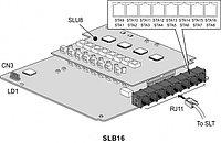 SLB16 плата расширения к IP АТС eMG80
