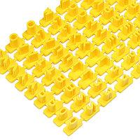 """Форма для выпечки """"алфавит"""" английские буквы (желтый)"""