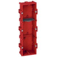 Коробка для кирпичных стен 3 поста (6/8/3*2 модулей) Глубина 40мм