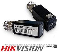 BNC BALUN Hikvision 1 комплект 2 шт. DS-1H18