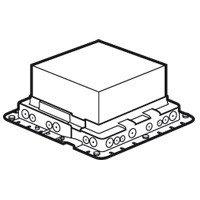 Монтажная коробка для бетонных полов, 16 модулей/24 модуля