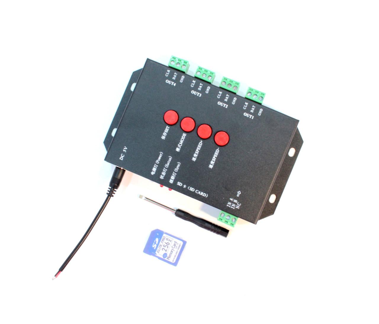 Контроллер для видео диодов T4000
