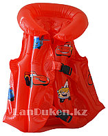 """Надувной спасательный жилет для плавания """"ТАЧКИ"""" (SWIMMING VEST красный)"""
