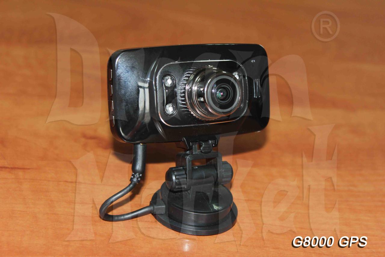 Автомобильный видеорегистратор G8000 GPS