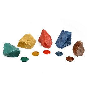 Сургуч комковый цветной. В наличии цвета: красный, золото, серебро, зеленый, синий