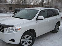 Мухобойка (дефлектор капота) Toyota Highlander 2008-2011
