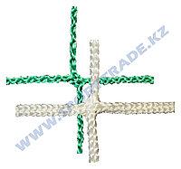 Сетка заградительная 100х100х3 бел/зелен. (мин 100м2)