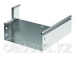 """Hyperline TSDH-1U-300-RAL9004 Полка c 19"""" креплением, 1 U, глубиной 300 мм для шкафов с глубиной от 450 мм,"""
