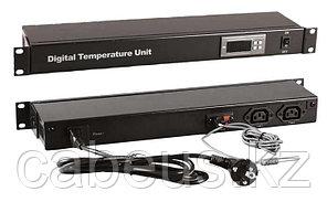 Hyperline TMPC-230V-RAL9004 Микропроцессорная контрольная панель, цвет черный (RAL 9004)