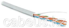 Hyperline UUTP4-C5E-S24-IN-PVC-GY-100 (100 м) Кабель витая пара, неэкранированная U/UTP, категория 5e, 4 пары