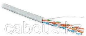 Hyperline UUTP4-C5E-S24-IN-LSZH-GY-100 (100 м) Кабель витая пара, неэкран. U/UTP, категория 5e, 4 пары (24
