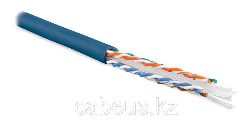 Hyperline UUTP4-C6-S23-IN-LSZH-BL-305 (305 м) Кабель витая пара U/UTP, категория 6, 4 пары (23 AWG),