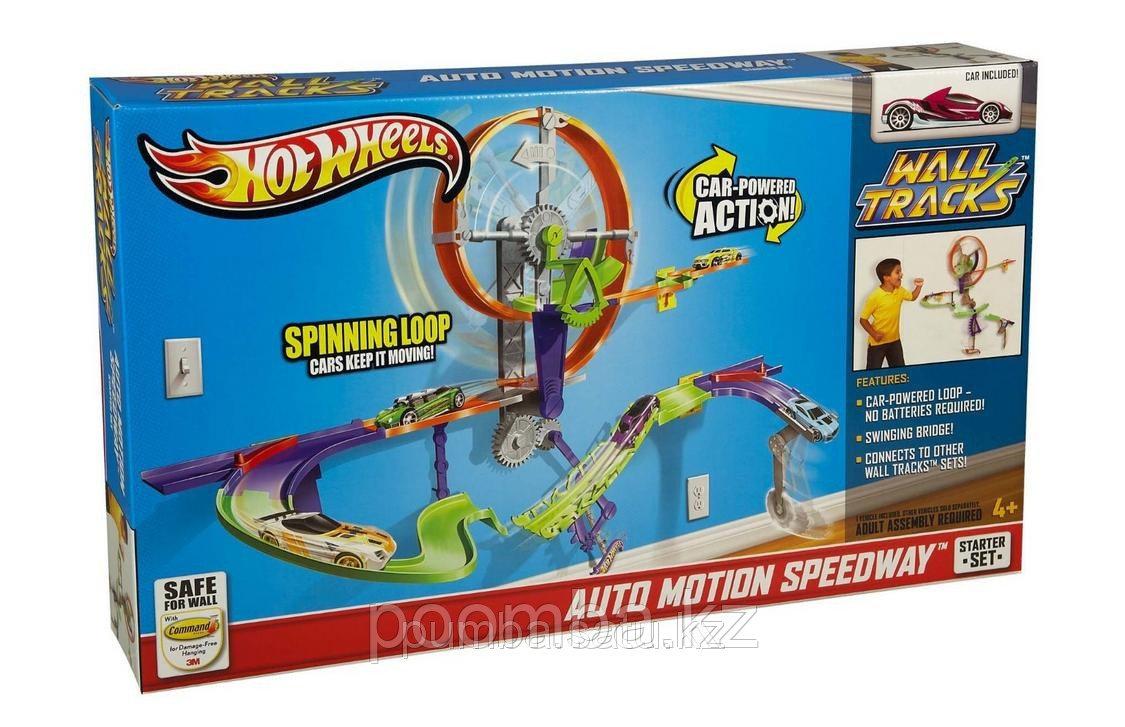 """Hot Wheels Настенные Треки """"Колесо-Спидвей"""". Трек настенный Hot Wheels """"Колесо-Спидвей"""""""