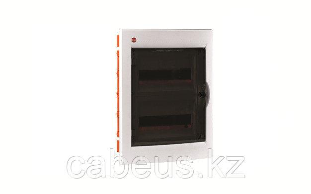 DKC / ДКС 81524 Щиток встраеваемый 2 ряда, 24(2x12) модуля, с прозрачной дверцей, без клеммных колодок, IP41,