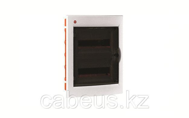 DKC / ДКС 81924 Щиток встраиваемый 2 ряда, 24(2x12) модуля, с прозрачной дверцей и замком, с клеммным блоком
