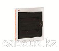 DKC / ДКС 81936 Щиток встраиваемый 2 ряда, 36(2x18) модулей, c прозрачной дверцей и замком, с клеммным блоком