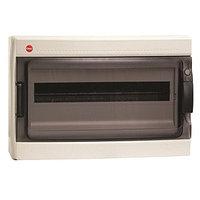 DKC / ДКС 85718 Щиток настенный 1 ряд, 18 модулей, с прозрачной дверцей, с усиленным клеммным блоком 1x87318,