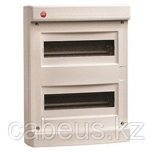 DKC / ДКС 83624 Щиток настенный 2 ряда, 24(2X12) модуля, без дверцы, без клеммных колодок, IP40, цвет серый