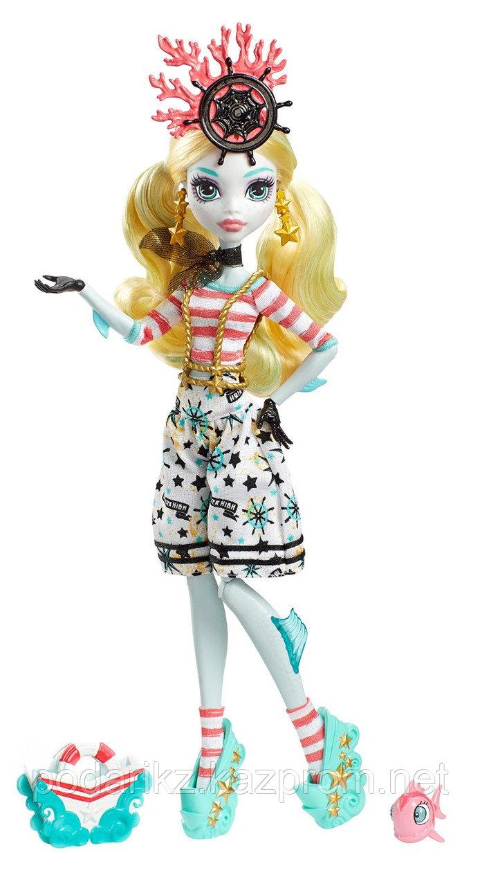 Куклы монстер хай Лагуна Блю, Monster High Shriekwrecked Lagoona Blue - фото 1