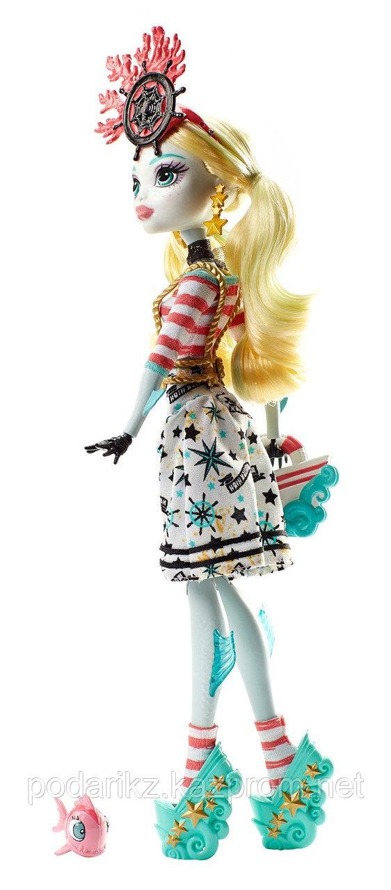 Куклы монстер хай Лагуна Блю, Monster High Shriekwrecked Lagoona Blue - фото 5