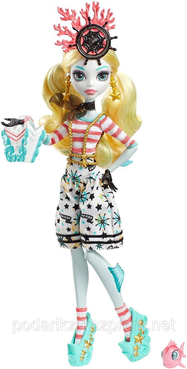 Куклы монстер хай Лагуна Блю, Monster High Shriekwrecked Lagoona Blue - фото 3