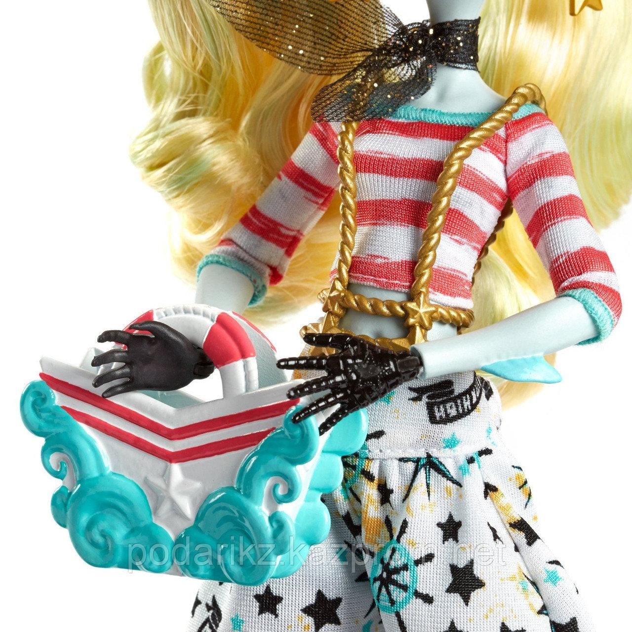 Куклы монстер хай Лагуна Блю, Monster High Shriekwrecked Lagoona Blue - фото 7