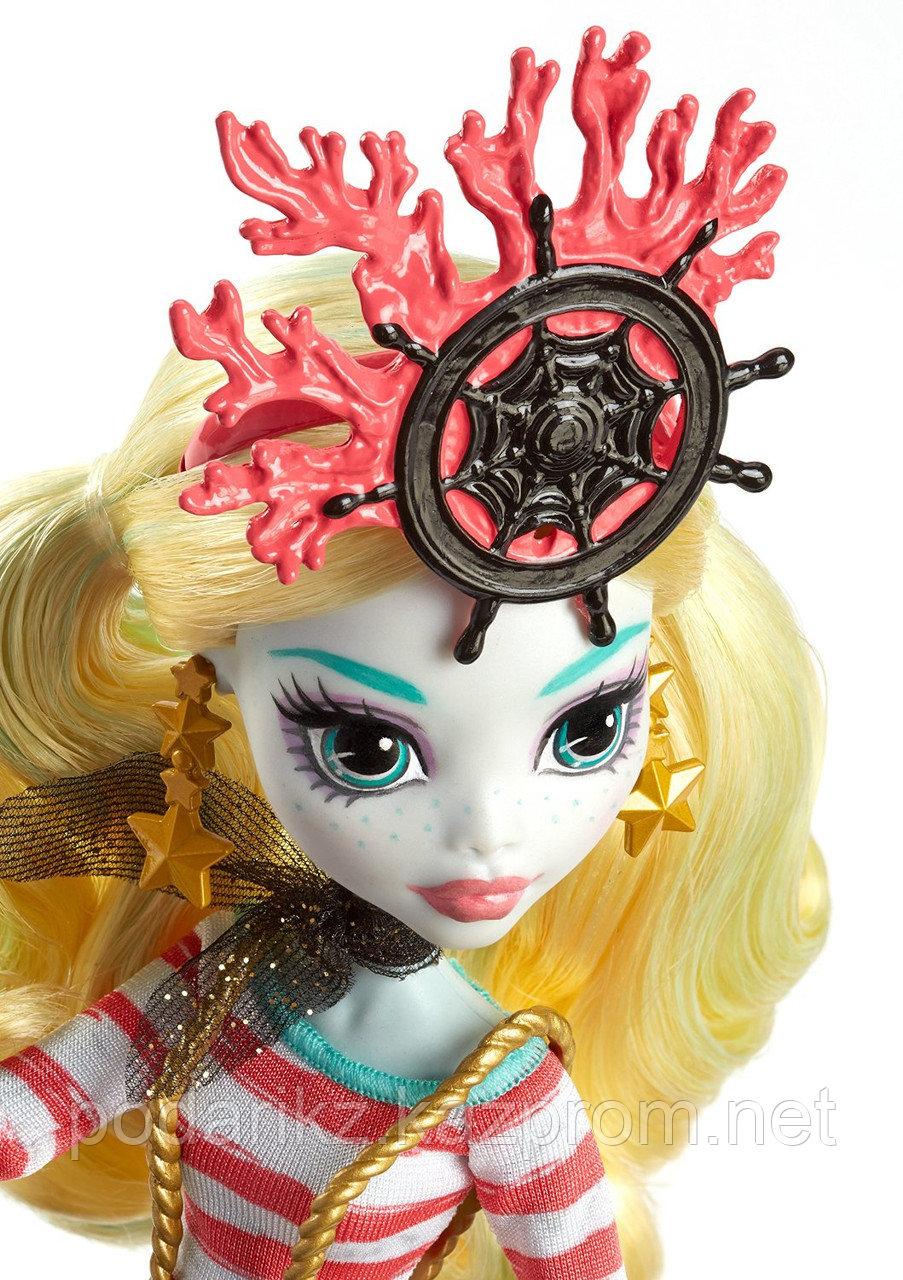 Куклы монстер хай Лагуна Блю, Monster High Shriekwrecked Lagoona Blue - фото 2