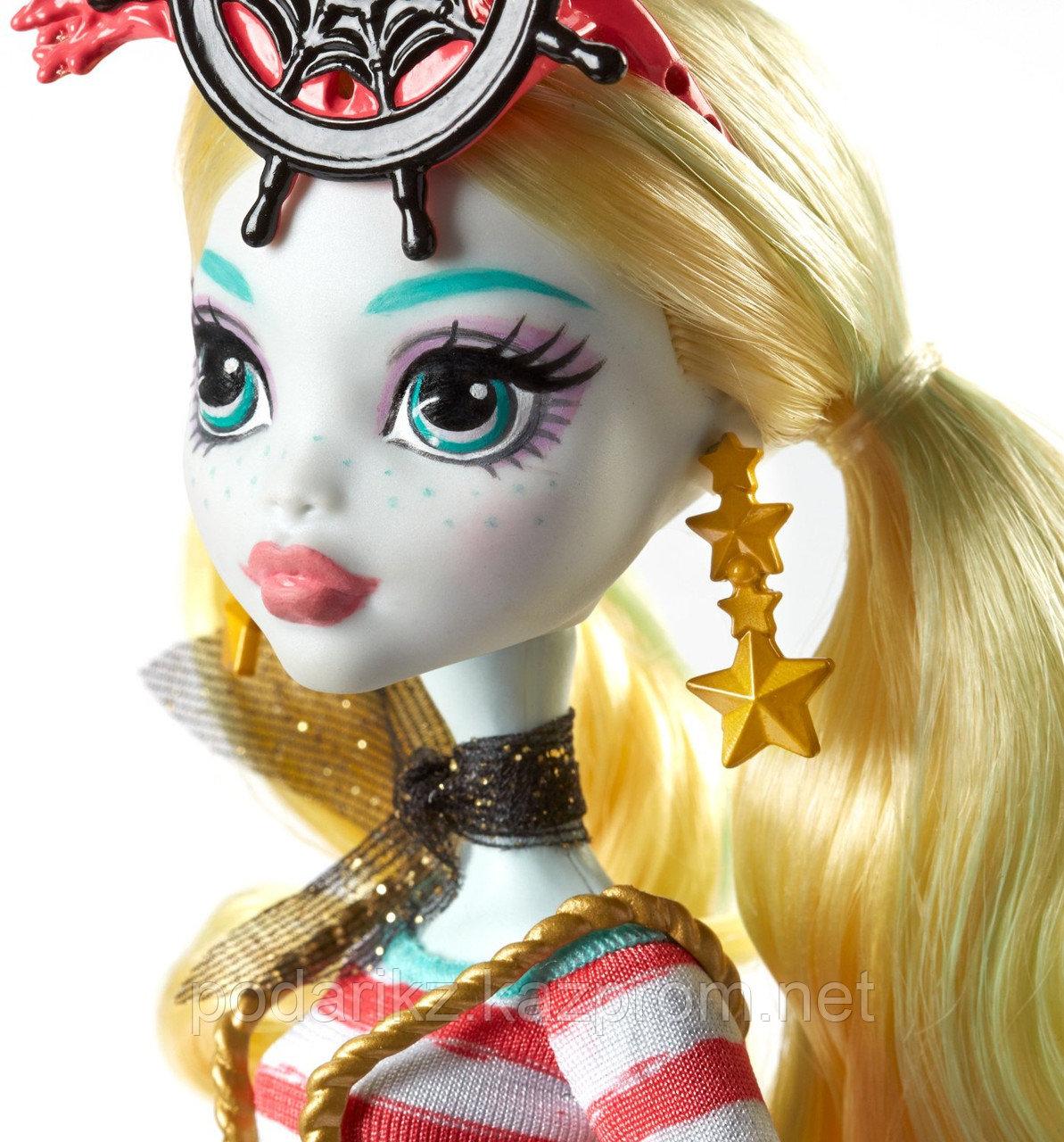 Куклы монстер хай Лагуна Блю, Monster High Shriekwrecked Lagoona Blue - фото 6