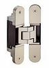 Скрытая дверная петля, нержавеющая сталь, вес 80 кг, 160*40 мм