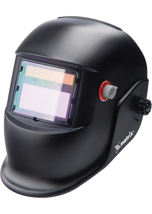 (89133) Щиток защитный лицевой (маска сварщика) с автозатемнением // MATRIX