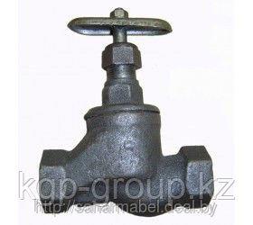 Клапаны (вентили) запорные чугунные муфтовый 15ч18п Ру16  Ду40