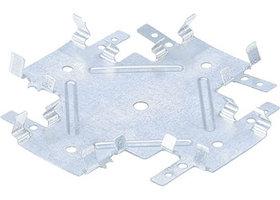 Краб соединительный для профиля KR 0,7 мм, KR 60х27 мм, цинк СИБРТЕХ Россия