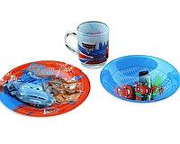 Детский набор Luminarc Disney Cars  из 3 предметов