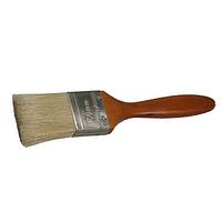 """Кисть плоская STAYER """"LASUR - LUX"""", деревянная ручка, смешанная щетина, 50мм"""