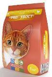 PROХвост (Прохвост) сухой корм для взрослых кошек всех пород, с курицей. 1 кг