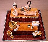 Традиционный банный ритуал: баня+пилинг+массаж (2 часа)