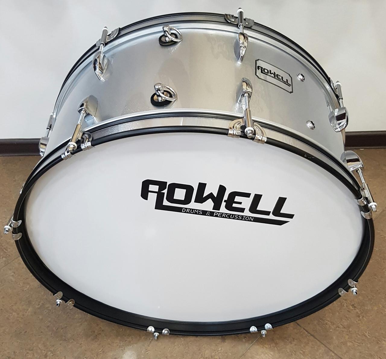 Маршевый бас барабан Rowell