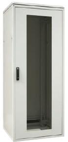 ZPAS WZ-S527-33-03-161 Дверь стеклянная в стальной раме (тип G) 42Ux800 мм (ВхШ), трехточечный замок с ручкой, для шкафов SZB, SZBR, SZBD, SZBSE,