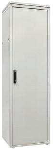 ZPAS WZ-S527-03-04-011 Дверь стальная сплошная (тип H) 42Ux600 мм (ВхШ), трехточечный замок с ручкой, для шкафов SZB, SZBR, SZBD, SZBSE, OTS1, DC,
