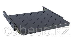 Hyperline TSSS-645-RAL9004 Полка выдвижная глубиной 450 мм для шкафов с глубиной от 600 мм (до 20 кг), цвет