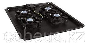 Hyperline TFAT-TC1200-6-RAL9004 Модуль вентиляторный потолочный с 6-ю вентиляторами для установки в напольные