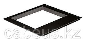 Hyperline TDP-15-RAL9004 Рамка для монитора 15-дюймового монитора (размер окна 285х215 мм), для крепления в