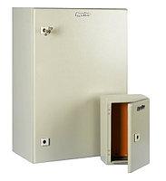 Hyperline TECL-1034 Шкаф электрический 400х300х210 (ВхШхГ), c монтажной панелью и креплением на стену, IP66,