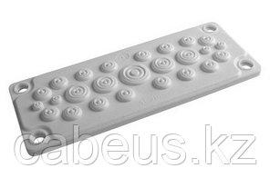 DKC / ДКС R5HTC25 Кабельный ввод мембранный, пластик, 25 отверстий, V0 UL94, IP55-IP65