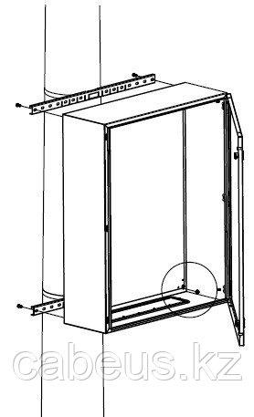 DKC / ДКС R5FB500 Комплект крепления шкафов CE/ST/RAM box к столбу (ширина шкафа- 500 мм) ( в комплекте: