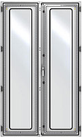 ZPAS WZ-6282-81-06-011 Дверь стеклянная, двустворчатая (правая) 1800 x 1000 мм, серая (RAL 7035)
