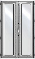 ZPAS WZ-6282-83-02-011 Дверь стеклянная, двустворчатая (правая) 2200 x 1000 мм, серая (RAL 7035)