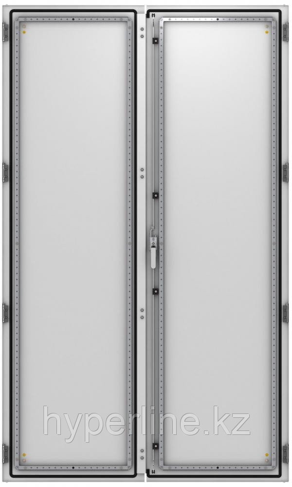 ZPAS WZ-6282-45-01-011 Дверь сплошная, двустворчатая (правая) 2200 x 1200 мм, серая (RAL 7035)