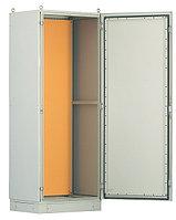 Hyperline TEFL-2024 Шкаф электрич.напольный, 2000х1200х400мм (ВхШхГ), стальн.каркас, одностворч.перед.дверь,