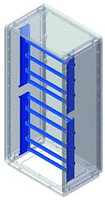 DKC / ДКС 095775805 Рама монтажная, для шкафов Conchiglia, ВхШ: 400 x 580 мм
